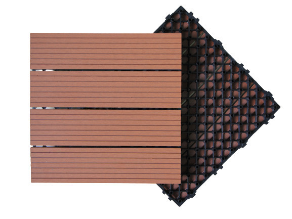 Huaus WPC Plastic wood tile/outdoor tiles for porch outdoor tiles for porch