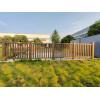 Outdoor easy installation co-extrusion wpc railing/ garden railing