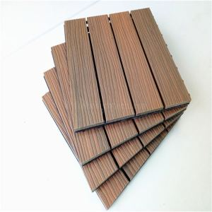 Interlocking ultra easy assemble capped DIY tile floor