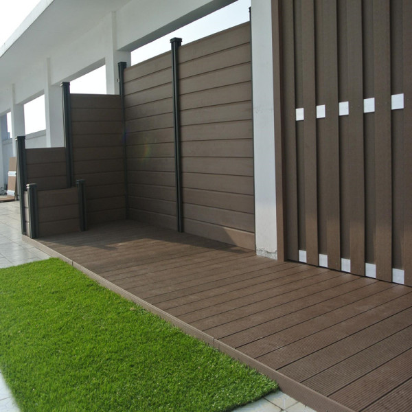 Nice design high quality  wpc composite fence panel