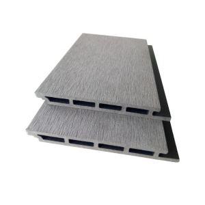 Revestimiento de pared de wpc compuesto exterior de decoración al aire libre de panel de pared de wpc resistente a los rayos UV a prueba de agua