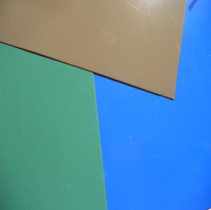 Rollos de acero pre-pintado