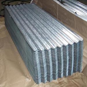 Chapa de acero galvanizado para techos