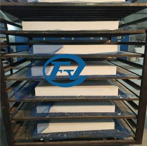 ceramic fiber alumina material for hot air circulation degreasing furnace