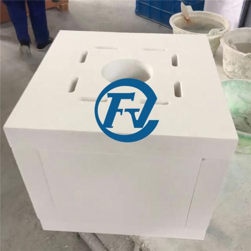 polycrystalline alumina fiber furnace hearth