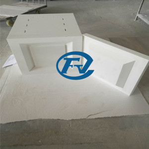 Box-type high temperature furnace hearth