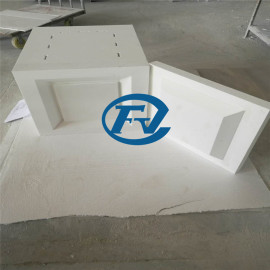 Box-type high temperature furnace chamber