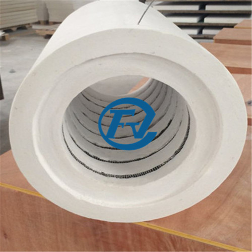 Electrical resistance round heating furnace with Kanthal wire