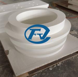 irregular shaped recrystallized fiber products