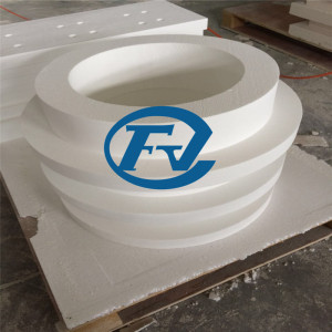 irregular shaped recrystallized fiber products