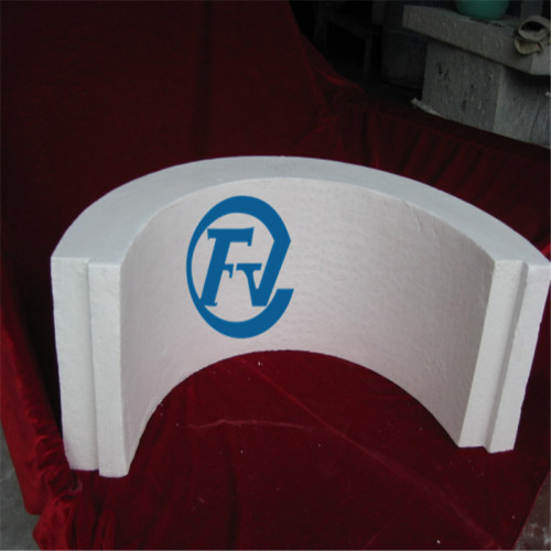 irregular shaped high temperature polycrystalline fiber products