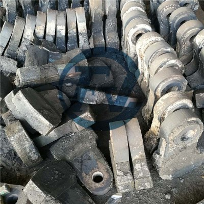 High chrome hammer head for mining crusher