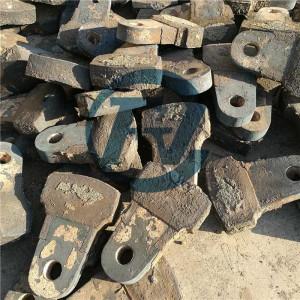 Cabeza de martillo de cromo alta para trituradora minera