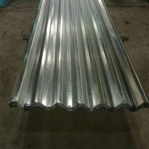 forma trapezoidal galvanizada hoja de acero corrugado 750mm
