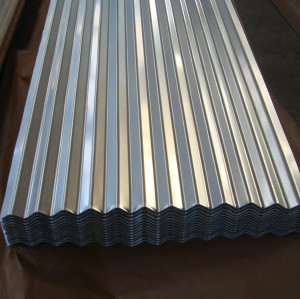 Lámina de cubierta de acero corrugado Galvalume / aluzinc