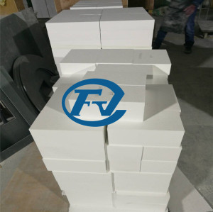 Tablero de fibra de cerámica de alta temperatura 1600C para el forro del horno
