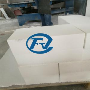 1600c 1700c 1800c horno material de aislamiento placa de fibra de cerámica