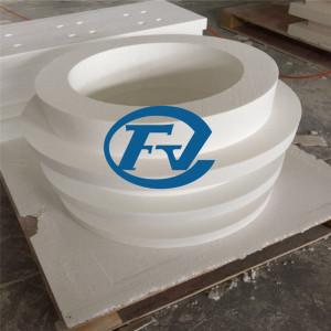 productos de fibra recristalizada de forma irregular