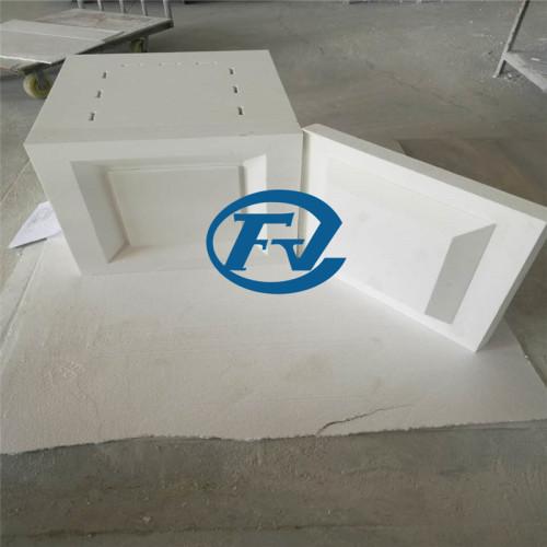 ceramic fiber resistance chamber for hot air circulation degreasing furnace