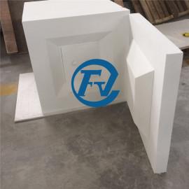 ceramic fiber chamber for High temperature box type experimental furnace