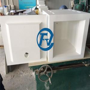 high temperature alumina Al2O3 fiber chamber for vertical tube furnace