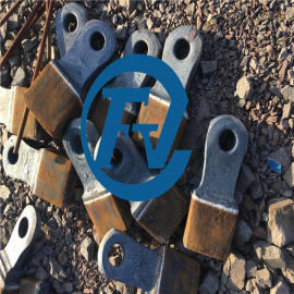 high manganese steel crusher hammer head