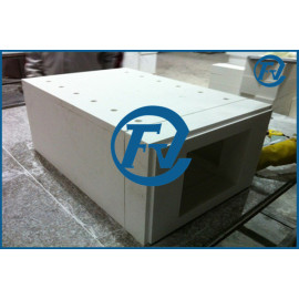 ceramic fiber module for high temperature electric resistance furnace