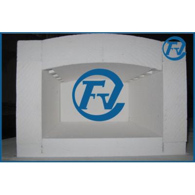 1700C ceramic fiber furnace chamber