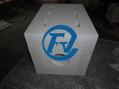 1600 degrees celsius operating temperature ceramic fiber furnace chamber