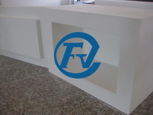 1700 degrees celsius operating temperature ceramic fiber furnace chamber