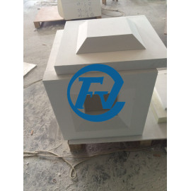 1700C continuous working temperature ceramic fiber furnace chamber