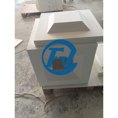1700C continuous working temperature ceramic fiber furnace chamber