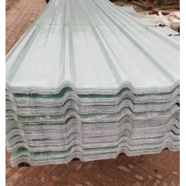 impact resistance FRP fiberglass corrugated roofing sheet