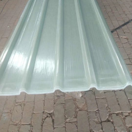 FRP corrugated plastic roofing sheet