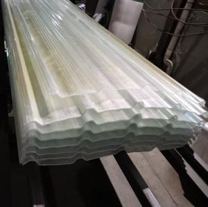 0.5mm thick FRP fiberglass reinforced plastic roofing sheet