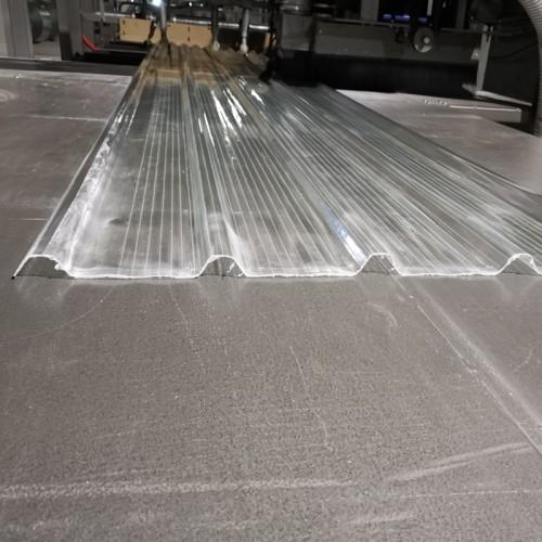 1.6mm thick FRP fiberglass translucent roofing sheet