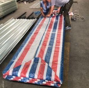 corrosion resistant fiberglass reinforced FRP translucent corrugated plastic roofing sheet
