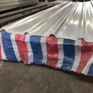 0.8mm thick FRP fiberglass reinforced plastic roofing sheet