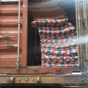 FRP clear corrugated fiberglass roof panel