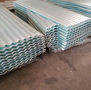 0.4-3.0mm thick FRP fiberglass transparent roofing sheet