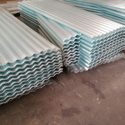 UV protection FRP fiberglass reinforced transparent corrugated roofing sheet