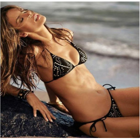 High quality ladies sexy bikini set with cup pad, size S/M, many styles