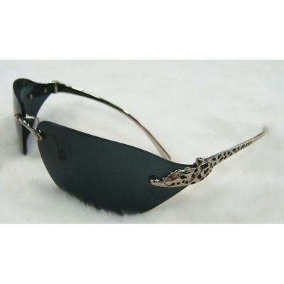 Hot sale Cartier Rimless Vintage Men's Sunglasses