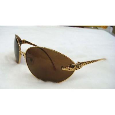Fashion design Cartier Rimless Vintage Men's Sunglasses