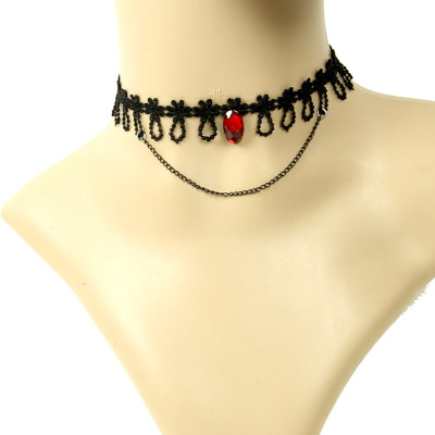 2012 new and hot style decoration lace necklace many designs
