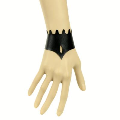 Simple design ladies leather bracelet accept mix order