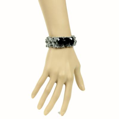 Fashion Grey Ladies Bracelet For Signal Party