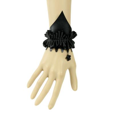 2012 New Arrive Gothic Style Black Lace Bracelet