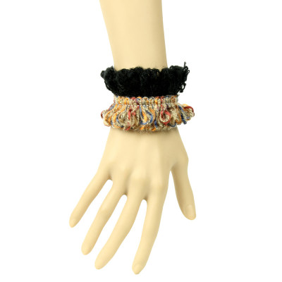 2012 new style European accessories wool lace wristbands