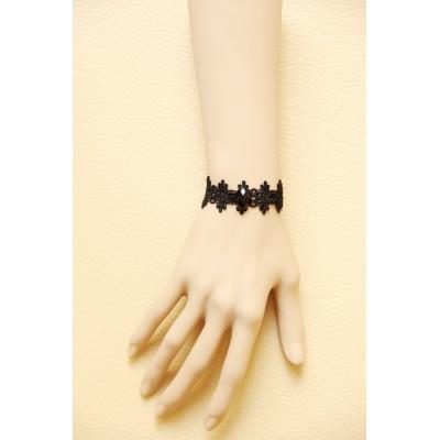 Young Ladies' Smartness Choice Black Lace Bracelet